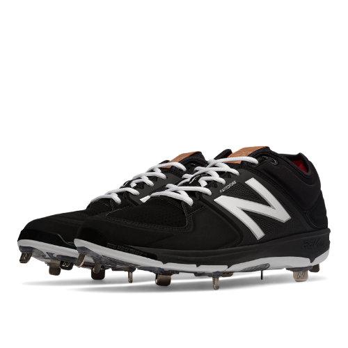 New Balance Low-Cut 3000v3 Metal Cleat Men's Shoes - Black (L3000SK3)