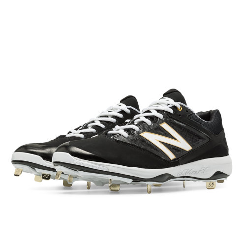 New Balance Low-Cut 4040v3 Metal Cleat Men's Low-Cut Cleats Shoes - Black (L4040BK3)
