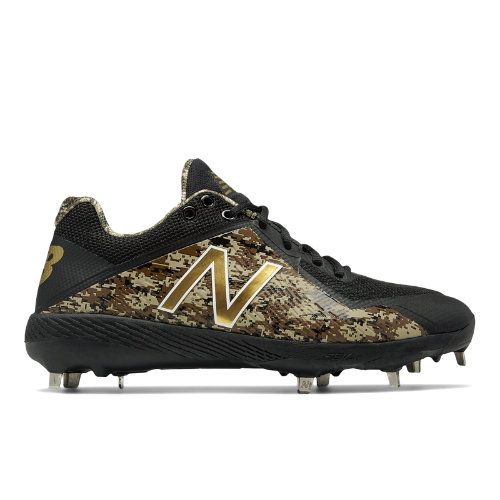New Balance 4040v4 Memorial Day Men's Low-Cut Cleats Shoes - Black / Camo (L4040MD4)