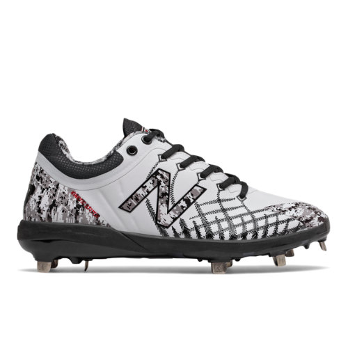 New Balance 4040v5 Pedroia Metal Men's Cleats and Turf Shoes - White (L4040PW5)