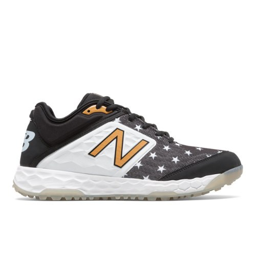 separation shoes 16f3a 05d76 New Balance Limited Fresh Foam 3000v4 Turf USA Men s Shoes - Black   White  (LT3000B4)
