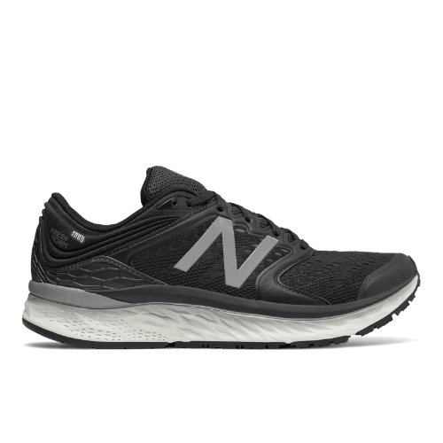 New Balance Fresh Foam 1080v8 Men's Soft and Cushioned Shoes - Black / White (M1080BW8)