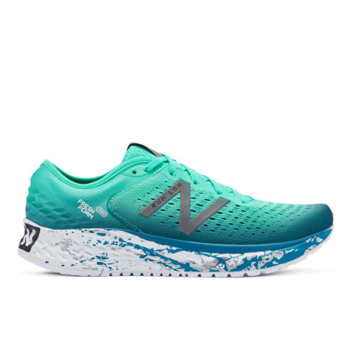New Balance Fresh Foam 1080v9 London Marathon Men's Running Shoes - Green (M1080LN9)