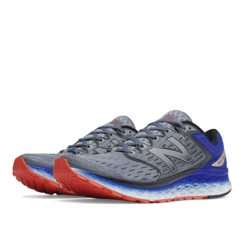 New Balance Fresh Foam 1080 Men's Shoes - Silver / Blue / Flame (M1080SB6)