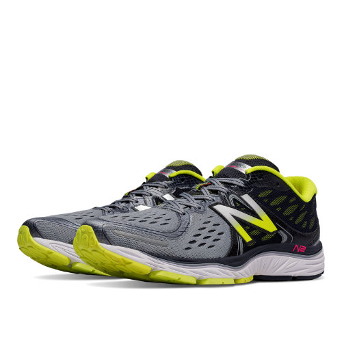 New Balance 1260v6 Men's Shoes - Grey / Firefly (M1260GY6)