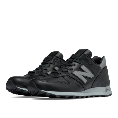 New Balance 1300 Age of Exploration Men's Made in USA Shoes - Black / Silver (M1300BOK)