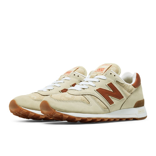 New Balance 1300 Age of Exploration Men's Made in USA Shoes - Powder / Brown (M1300DSP)