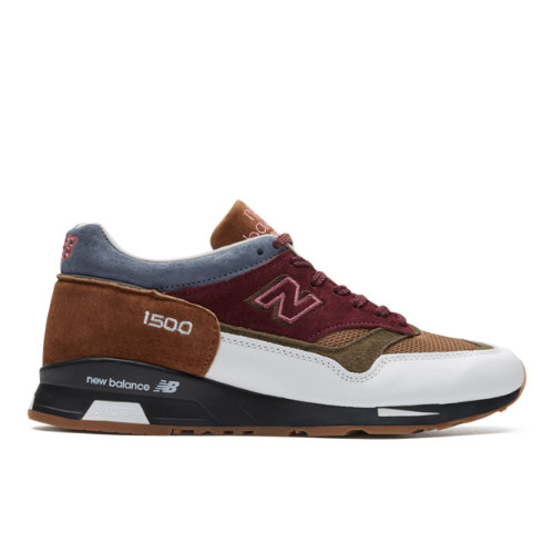 New Balance Made in UK 1500 Scarlet Stone Men's Lifestyle Shoes - Red / White (M1500BWB)