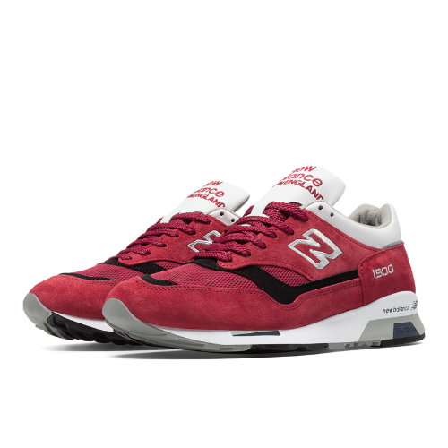 New Balance 1500 Made in UK Men's Shoes - Red / Black / White (M1500CK)