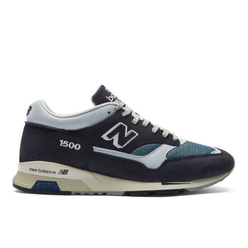 New Balance 1500 Made in UK Nubuck Men's Shoes - Navy (M1500OGN)