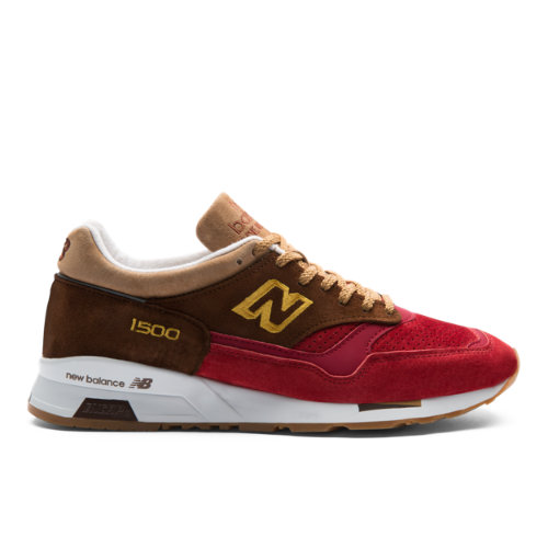 New Balance 1500 Made in UK Men's Sneakers Shoes - Red (M1500RNR)