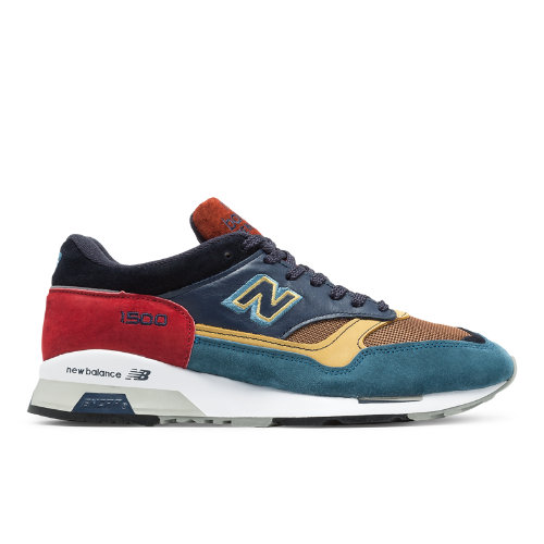New Balance 1500 Made in UK Yard Men's Shoes - Green / Navy / Red (M1500YP)