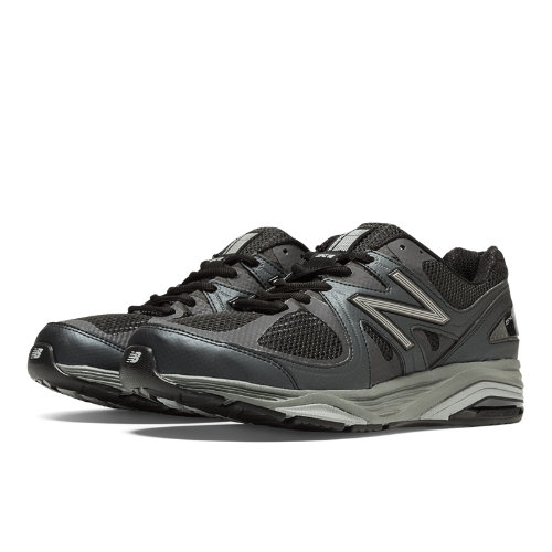 New Balance 1540v2 Men's Everyday Running Shoes - Black, Silver (M1540BK2)