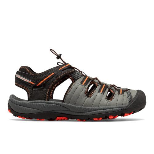 New Balance Appalachian Sandal Men's Slides - Black / Orange (M2040BON)