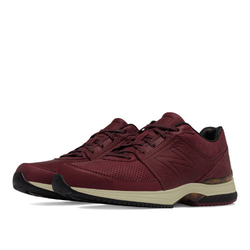New Balance 2040v3 Leather Men's Everyday Running Shoes - Oxblood / Black (M2040OB3)