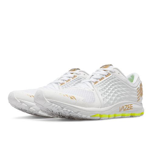 New Balance Vazee 2090 Glory Men's Speed Shoes - White / Gold / Toxic (M2090TT)