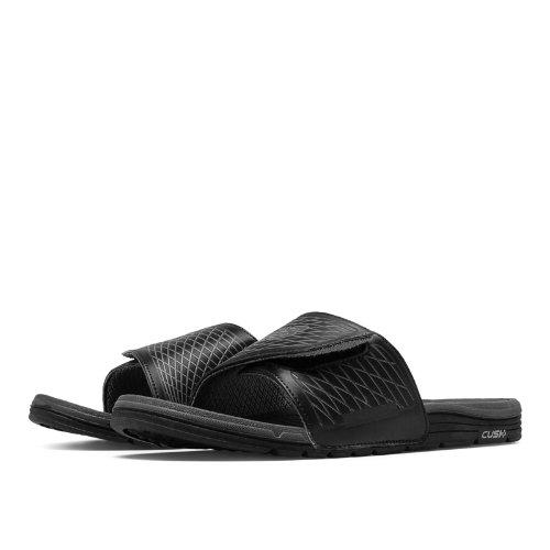 New Balance Cush+ Slide Men's Slides Shoes - Black, Grey (M3064BGR)