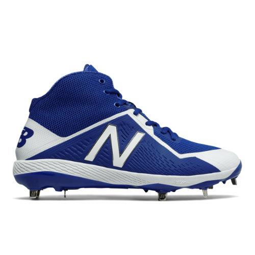 New Balance Mid-Cut 4040v4 Men's Mid-Cut Cleats Shoes - Blue / White (M4040TB4)