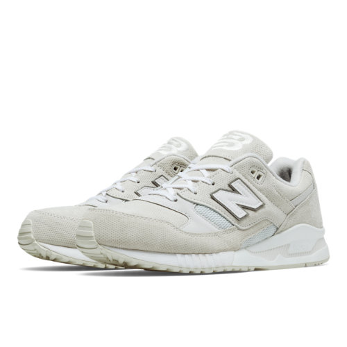 New Balance 530 Perforated Men's Running Classics Shoes - White (M530AW)