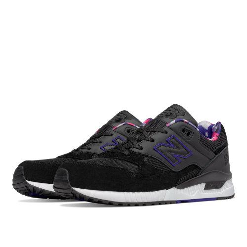 New Balance 530 90s Camo Men's Shoes - Black / Spectral (M530WNB)