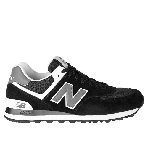 wholesale dealer fe789 f5edf New Balance 574 Men's Shoes - Black, Grey, White (M574SKW ...