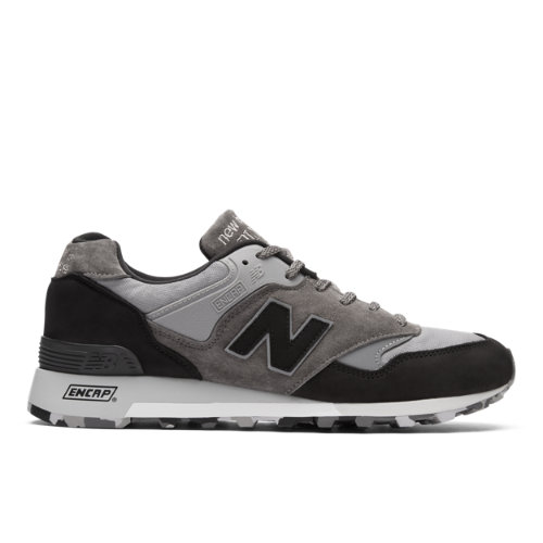 New Balance Made in UK 577 Men's Lifestyle Shoes - Grey / Black (M577SOP)