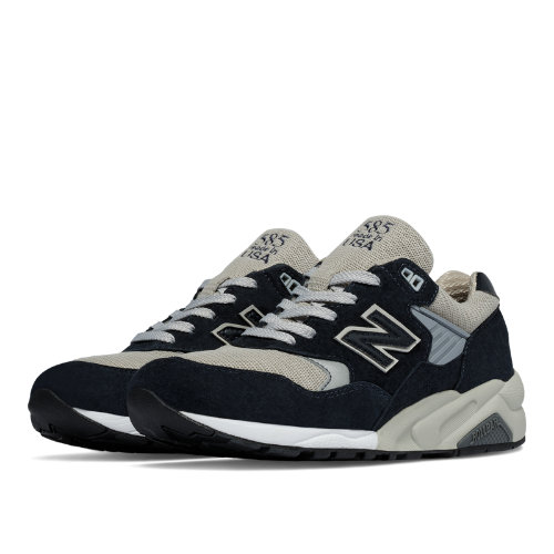 New Balance 585 Made in the USA Bringback Men's Made in USA Shoes - Navy / Grey (M585BG)