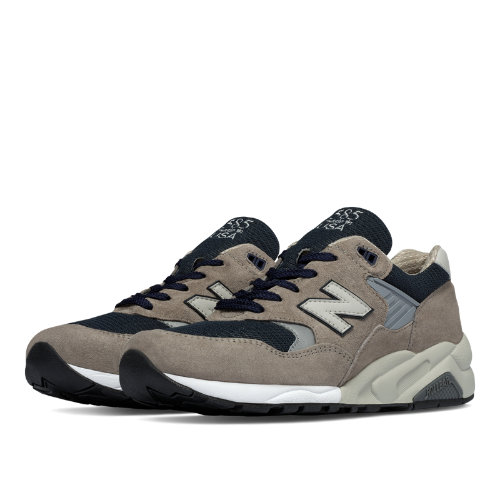 New Balance 585 Made in the USA Bringback Men's Made in USA Shoes - Grey / Navy (M585GR)