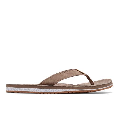 New Balance Classic Thong Men's Flip Flops Shoes - Tan (M6078BRGM)