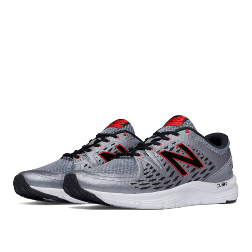New Balance 775v2 Men's Everyday Running Shoes - Gunmetal, Black, Red (M775LC2)
