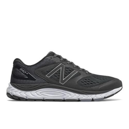 New Balance 840v4 Men's Running Shoes - Black (M840BK4)