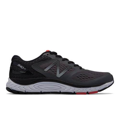 New Balance 840v4 Men's Neutral Cushioned Shoes - Black (M840GR4)
