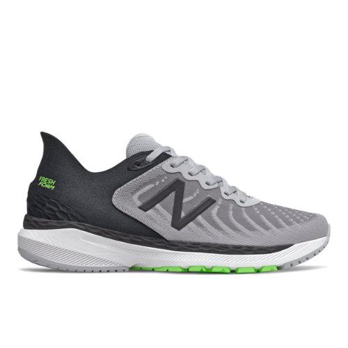 New Balance Fresh Foam 860v11 Men's Stability Running Shoes - Grey / Black (M860A11)