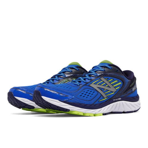 new balance 860v7. new balance 860v7 men\u0027s distance shoes - blue / yellow (m860by7) e