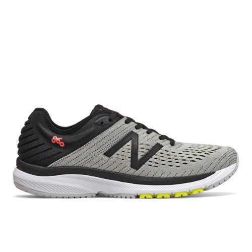 New Balance 860v10 Men's Stability Running Shoes - Grey (M860D10)