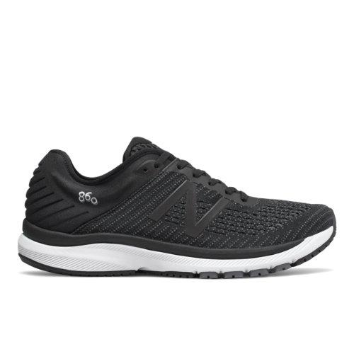 New Balance 860v10 Men's Stability Running Shoes - Black (M860G10)