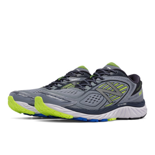 New Balance 860v7 Men's Distance Shoes - Grey / Yellow (M860GY7)