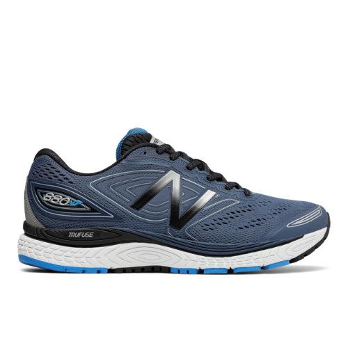 New Balance 880v7 Men's Distance Shoes - Navy / Black / Blue (M880BO7)