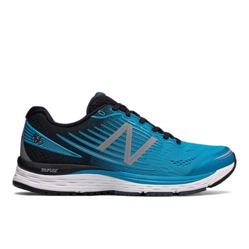 New Balance 880v8 Men's Neutral Cushioned Shoes - Blue / Black (M880MB8)
