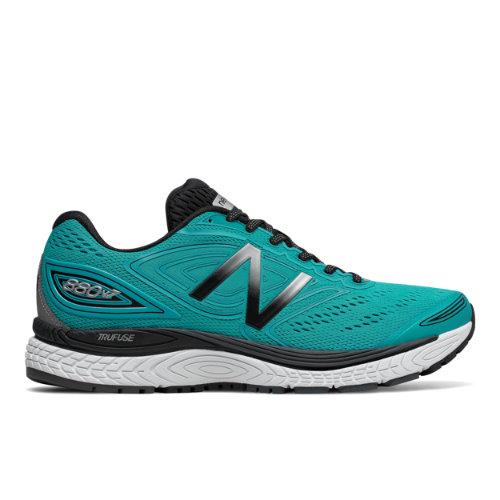 New Balance 880v7 Men's Distance Shoes - Pisces / Black / Grey (M880PW7)