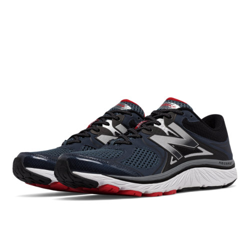 New Balance 940v3 Men's Distance Shoes - Black / Red / Silver (M940BR3)