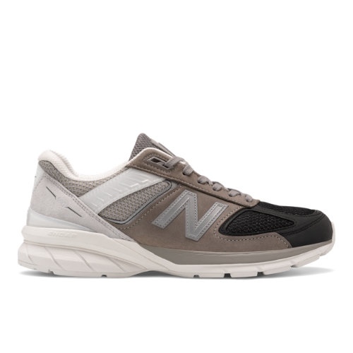 New Balance Made in USA 990v5 Men's Lifestyle Shoes - Black / Grey (M990BM5)