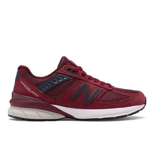 New Balance Made in USA 990v5 Men's Lifestyle Shoes - Red (M990BU5)
