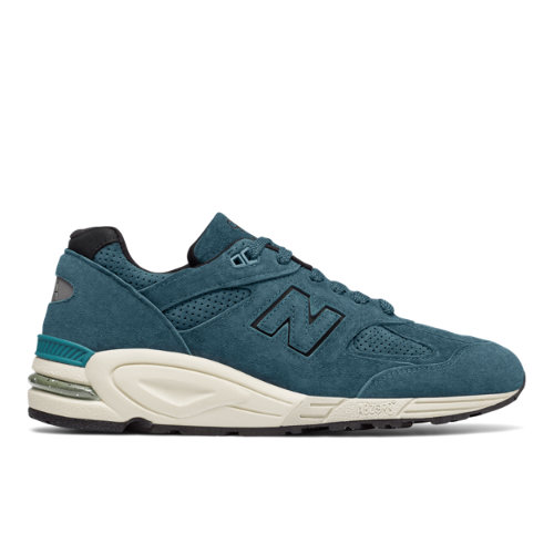 New Balance 999v2 Made in US Color Spectrum Men's Made in USA Shoes - Sea Blue / Off White (M990CR2)