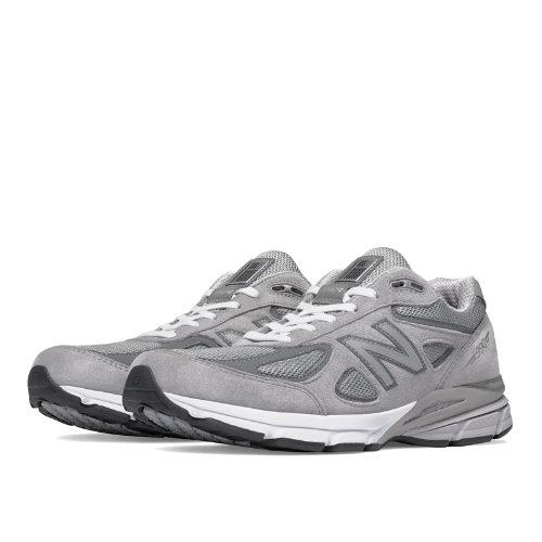New Balance 990v4 Men's Made in USA Shoes - Grey, Castlerock (M990GL4)