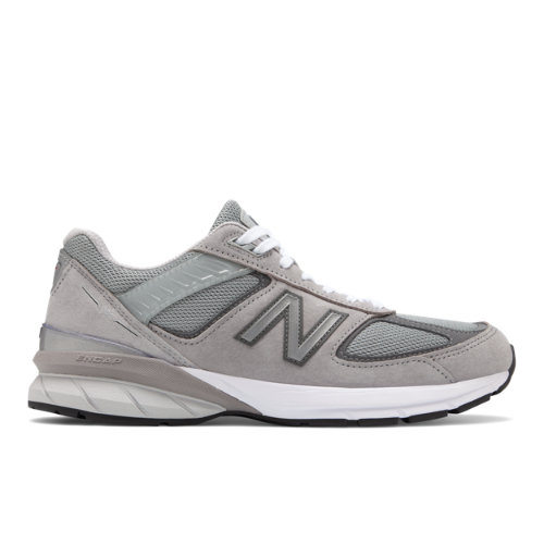 New Balance 990v5 Made in USA Men's Shoes - Grey (M990GL5)