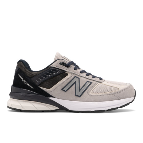 New Balance Made in USA 990v5 Men's Lifestyle Shoes - Grey / Black (M990GT5)