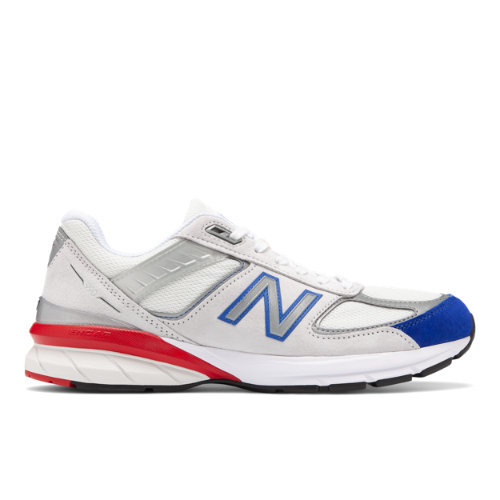 New Balance Made in USA 990v5 Men's Shoes - White (M990NB5)