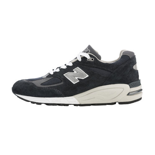 New Balance 990v2 Made in the USA Bringback Men's Made in USA Shoes - Navy (M990NV2)