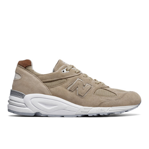 New Balance 990v2 Winter Peaks Men's Made in USA Sneakers Shoes - Tan / White (M990TN2)